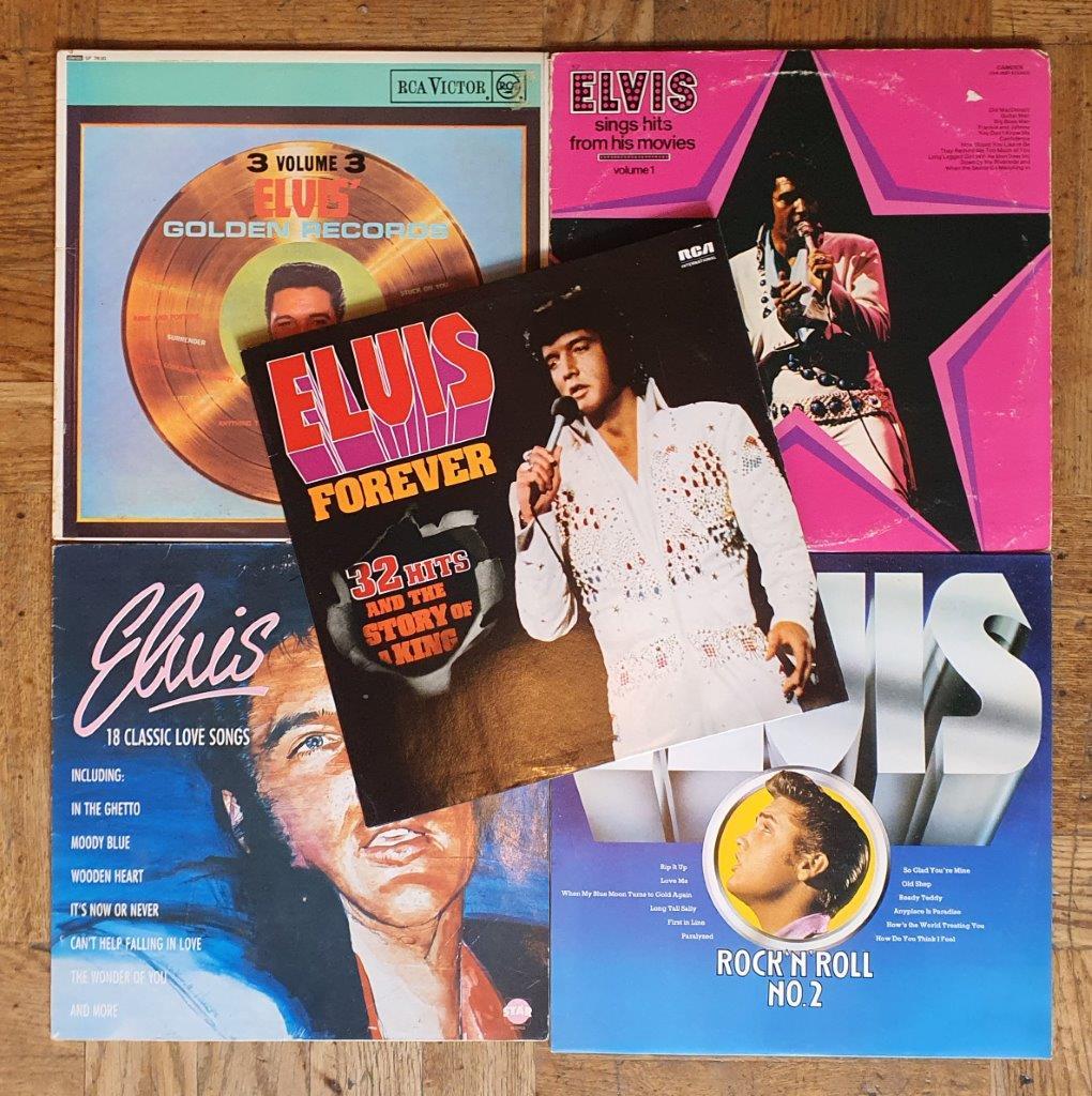 Luisteren: 5 x Elvis