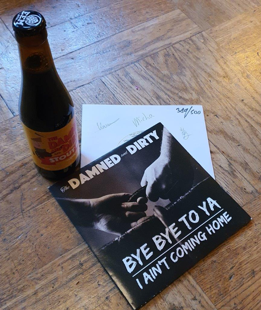 Luisteren: The Damned and Dirty 7 inch genummerd & gesigneerd!