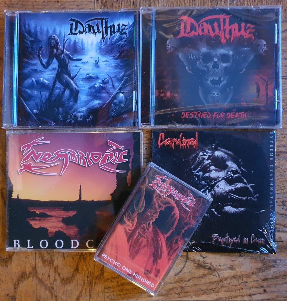 Luisteren: Nembrionic/ Cardinal/Dauthus (Death Metal) Gesigneerd!