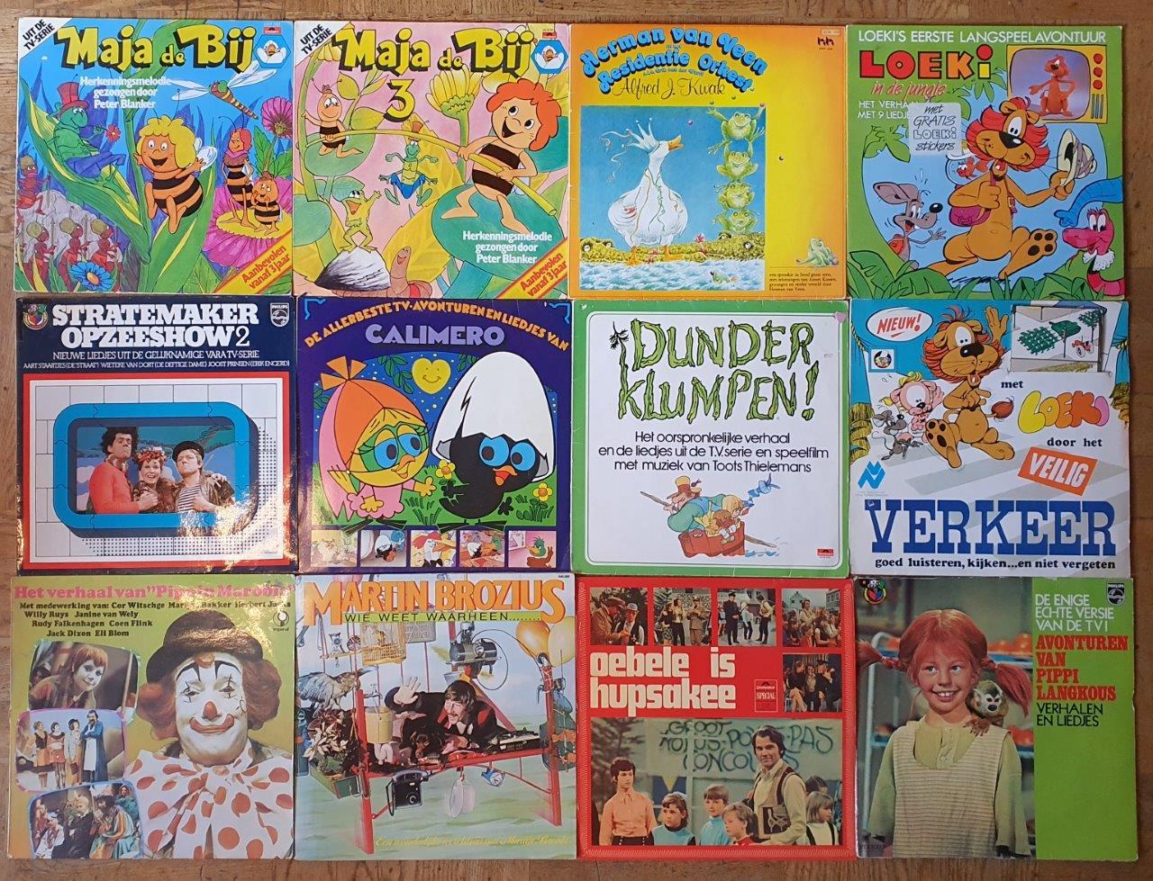 Luisteren: 38 x LP's voor kinderen